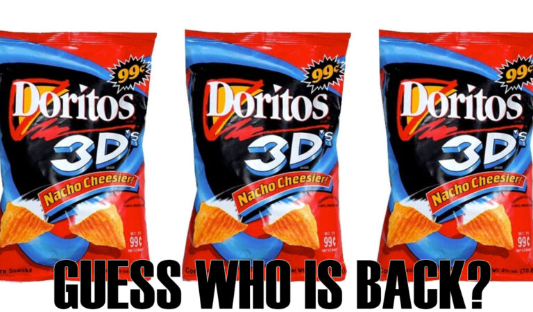This Is Not A Drill. 3D Doritos To Return in January 2021