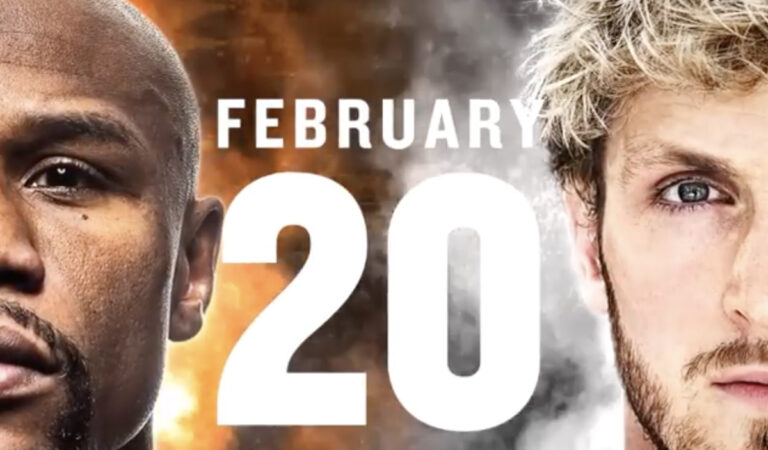 Mayweather Vs Logan Paul is Happening on Feb 20, 2021. God, help us.
