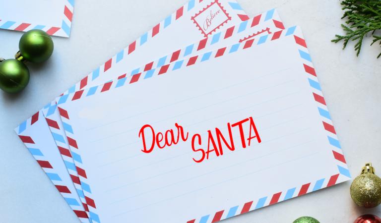 Dear Santa From Sharon