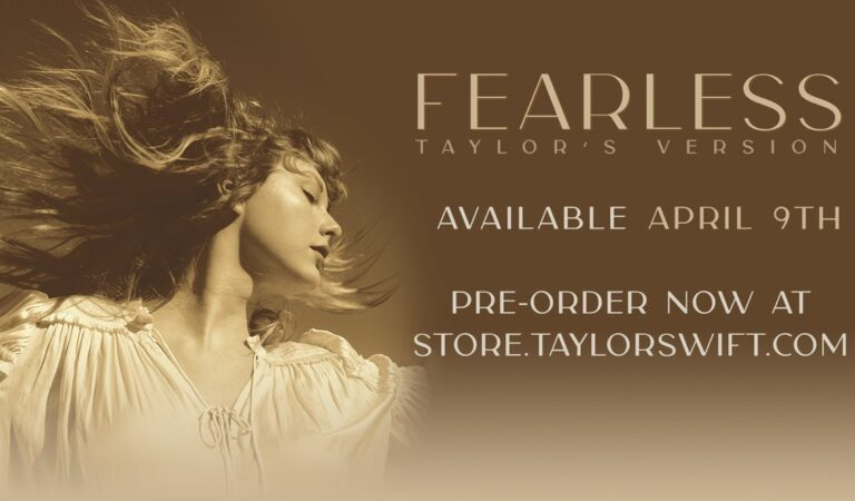 Taylor Swift announces rerecorded version of 'Fearless' coming soon