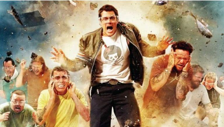 A new Jackass Movie is a thing, I guess