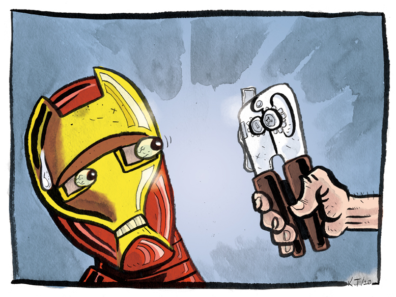 Iron_Man_vs__Can_Opener_by_archiesnow