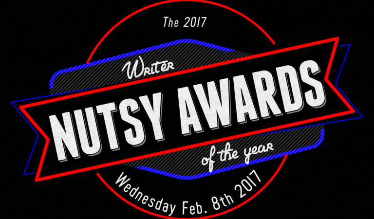 The 2017 Nutsy Awards: Writer of the Year