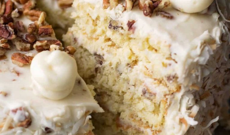 Preheating Bliss: Italian Cream Cake