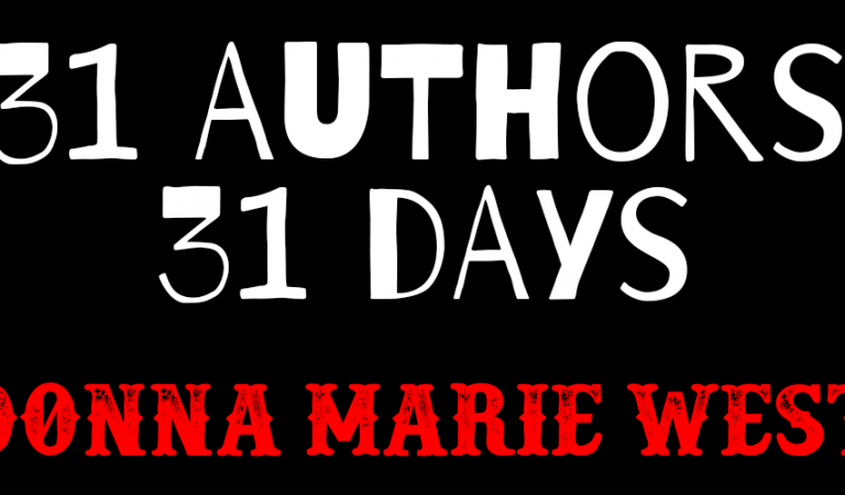 30 Authors in 31 Days: Donna Marie West