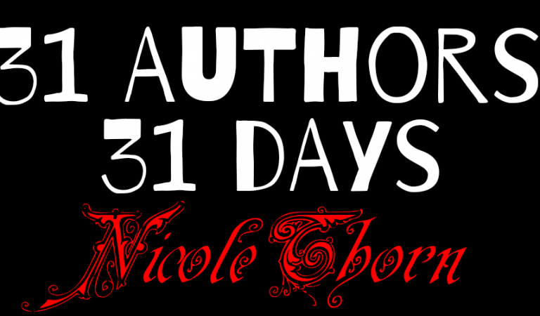 31 Authors in 31 Days: Nicole Thorn