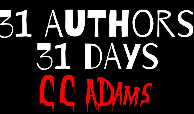31 Authors in 31 Days: CC Adams